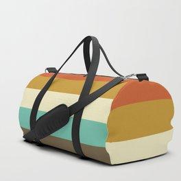 retro color palette Duffle Bag