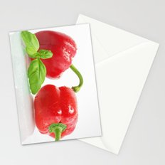 Red Pepper  Stationery Cards