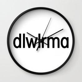 dlwlrma - IU - Lee Ji Eun Shirt Wall Clock