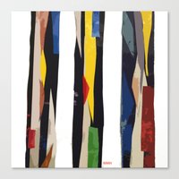 subway Canvas Prints featuring Subway by Myles Hunt
