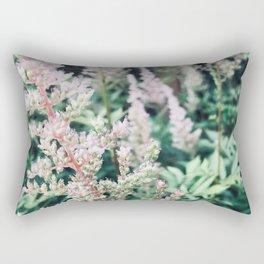 Flowers in the Garden Rectangular Pillow