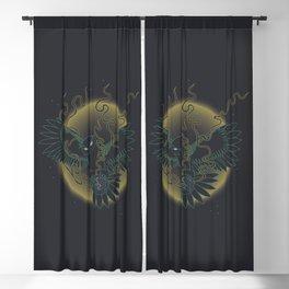 Natural - Illustration Blackout Curtain