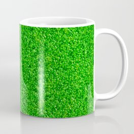 Bright Green Liquid Droplets Coffee Mug