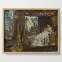 Lawrence Alma-Tadema - Antony and Cleopatra Serving Tray