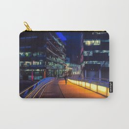 Night time in Media City Carry-All Pouch