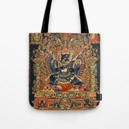 Tantric Buddhist Vajrabhairava Deity 2 Tote Bag