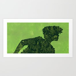 Peter Pan's Shadow Art Print