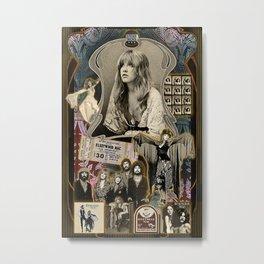 Stevie Nicks Poster Metal Print
