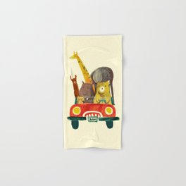 Visit the zoo Hand & Bath Towel