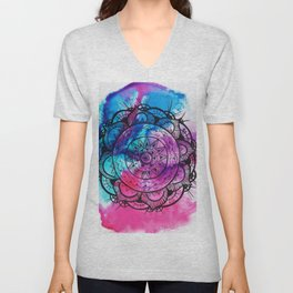 Mandala Art Unisex V-Neck