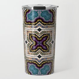 Victorian Art Deco Medieval Pattern SB 37 Travel Mug