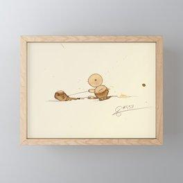 #coffeemonsters 457 Framed Mini Art Print