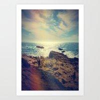 chile Art Prints featuring Quintero, Chile. by Viviana Gonzalez