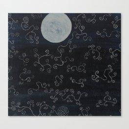 Mystical Moonrise Canvas Print