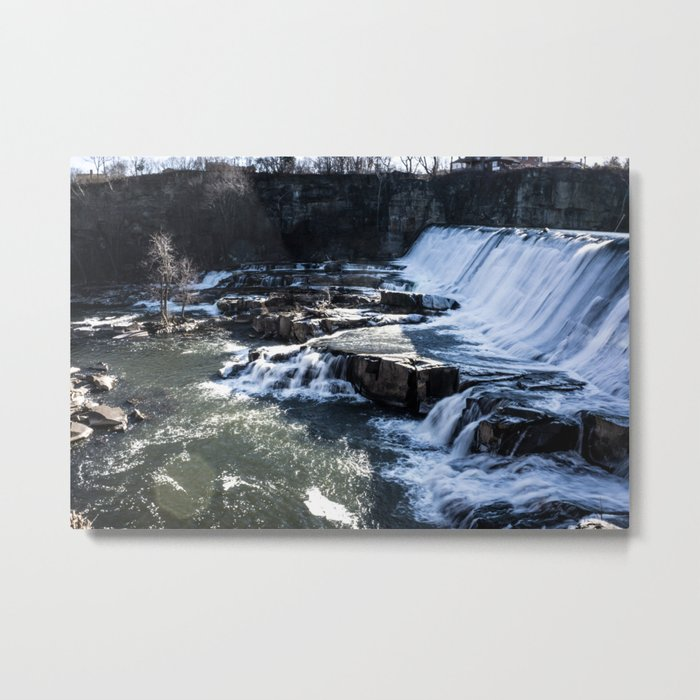 Upstate New York Waterfall Metal Print