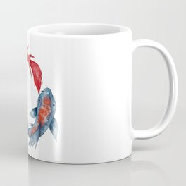 Yin Yang Koi Fish Coffee Mug