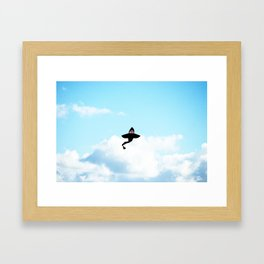 & Sharks Will Fly Framed Art Print
