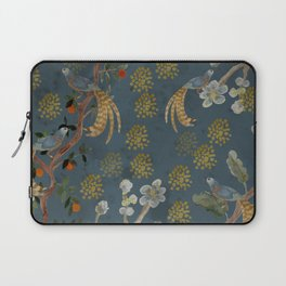 Blue Chinese Forest Laptop Sleeve