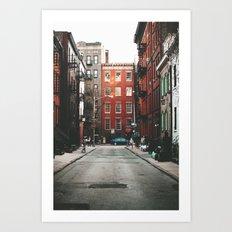 Gay Street NYC Art Print