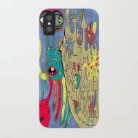 downton abbey iPhone & iPod Cases featuring Downton Crabbey by Amy Gale