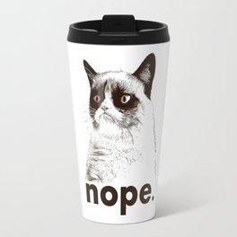 Grumpys Cat Travel Mug