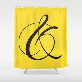 Ampersand 1 Shower Curtain