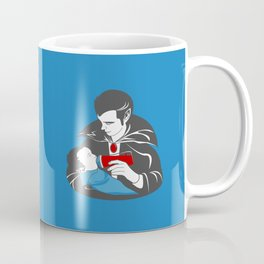 The Curious Case of a Baby Vampire Coffee Mug