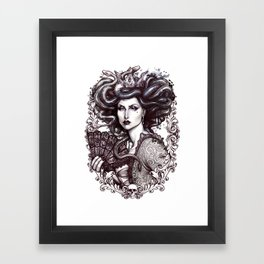 MEDUSA IMPERATRIX MUNDI Framed Art Print