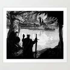 Finn and the Fiddler 2 Art Print
