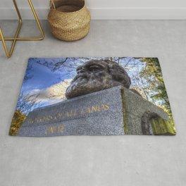 Karl Marx Memorial Rug