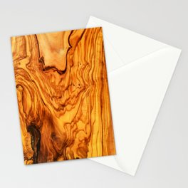 olive tree wood Stationery Cards