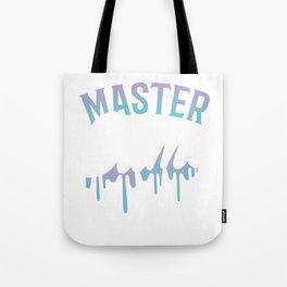 Slime graphic for Boys and Girls Master Slime Maker Kids Tee design Tote Bag