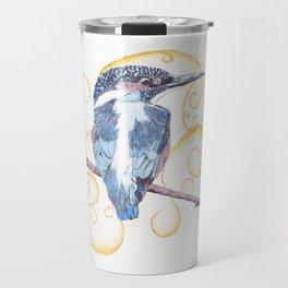 Kingfisher - Inked Travel Mug