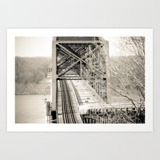 Welcome to Vicksburg 1 Art Print