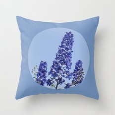blue blue blue IV Throw Pillow
