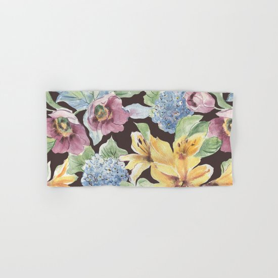 fall lily Hand & Bath Towel