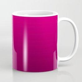 Black and Fuchsia Gradient Coffee Mug