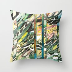 faded 2 Throw Pillow