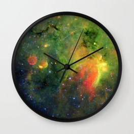 Galactic Snake in Infrared Milky Way Wall Clock