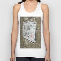 liverpool Tank Tops featuring Liverpool Street Sign by Jonah Anderson