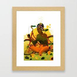 Essentia.Yellow Framed Art Print