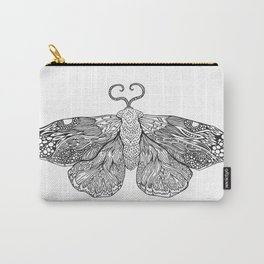 Moth Illustration Carry-All Pouch