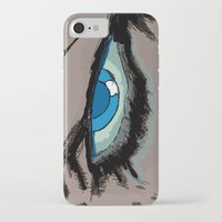infamous iPhone & iPod Cases featuring Comic eyes (infamous) by  Steve Wade ( Swade)