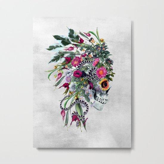 Momento Mori Chief Metal Print