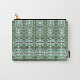 Designer Green Palms Environment Carry-All Pouch