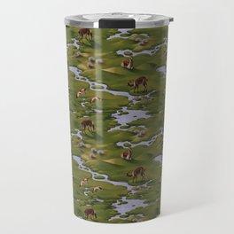 Vicuñas and Flamingoes Travel Mug