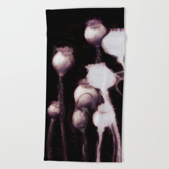 Poppy Variation 9 Beach Towel