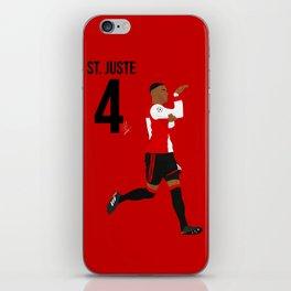 St. Juste - Feyenoord iPhone Skin