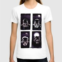 howl T-shirts featuring Howl by Zombie Rust