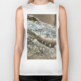 Wildlife Collection: Crocodile Biker Tank